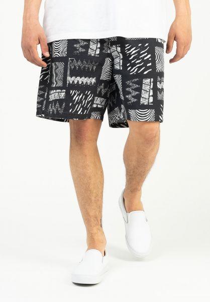 Quiksilver Beachwear OG Tribal Walkshort black-tribal-mosaic vorderansicht 0205484