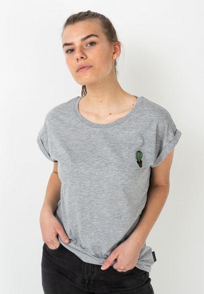 Ezekiel T-Shirts Cactus heathergrey vorderansicht 0322326