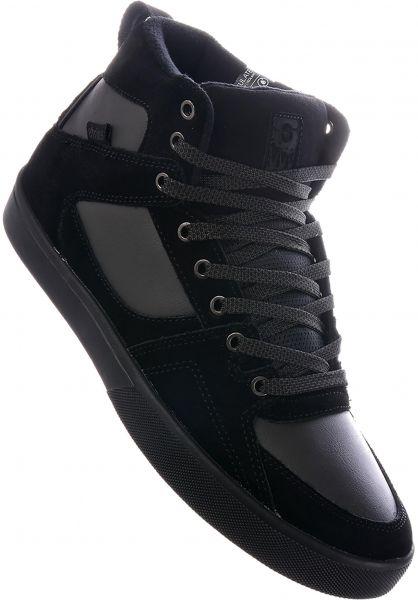 etnies Alle Schuhe Harrison HTW black-darkgrey-gum Vorderansicht