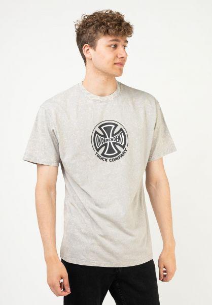 Independent T-Shirts Truck Co. mineralwashgrey vorderansicht 0321513