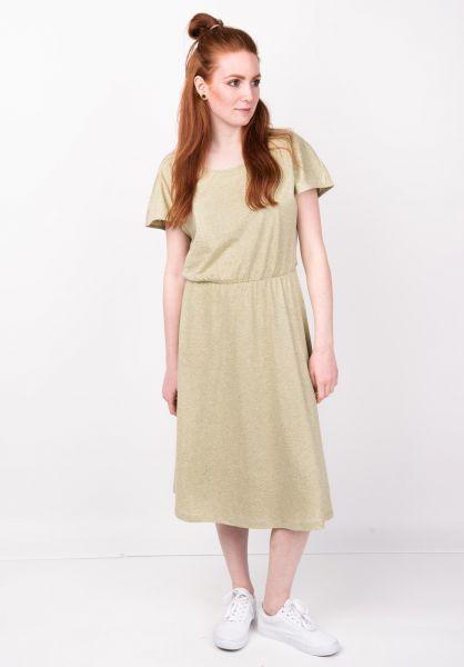 Forvert Kleider Tanete greymelange-yellow vorderansicht 0801377