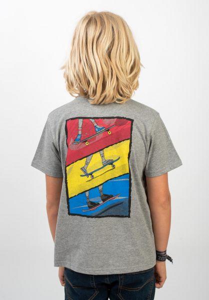 TITUS T-Shirts Acum Kids greymottled vorderansicht 0399271