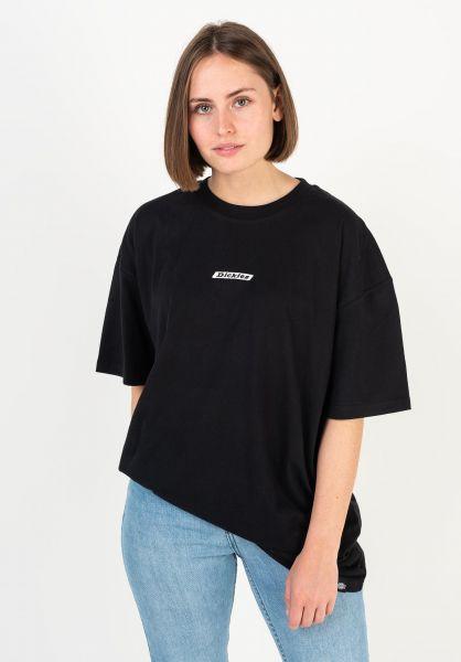 Dickies T-Shirts Clara City black vorderansicht 0321970