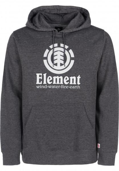 Element Hoodies Vertical charcoalheather-white Vorderansicht