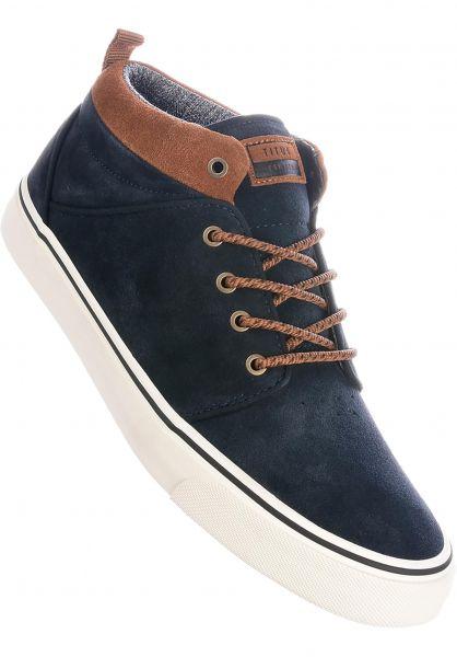 TITUS Alle Schuhe Hudson Mid darknavy-brown-white vorderansicht 0604515