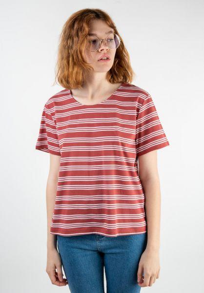 Forvert T-Shirts Ida red-white vorderansicht 0320109