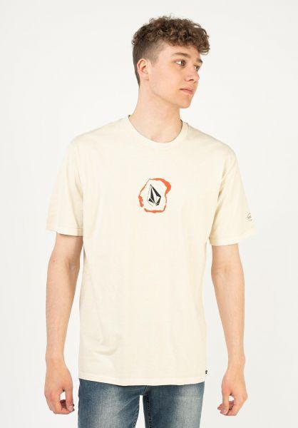 Volcom T-Shirts Posted whiteflash vorderansicht 0321779