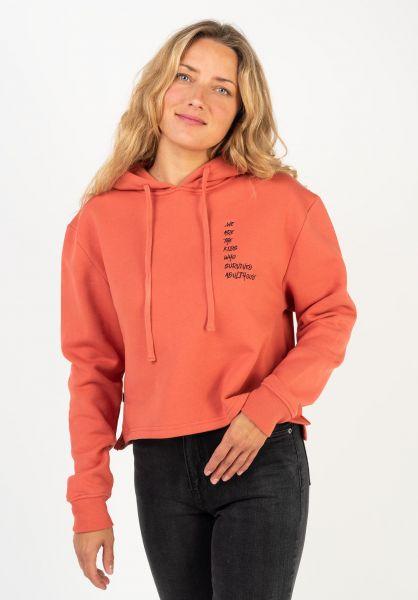 TITUS Sweatshirts und Pullover Elaria orange vorderansicht 0422813