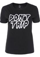 Volcom T-Shirts Don't even trip black Vorderansicht