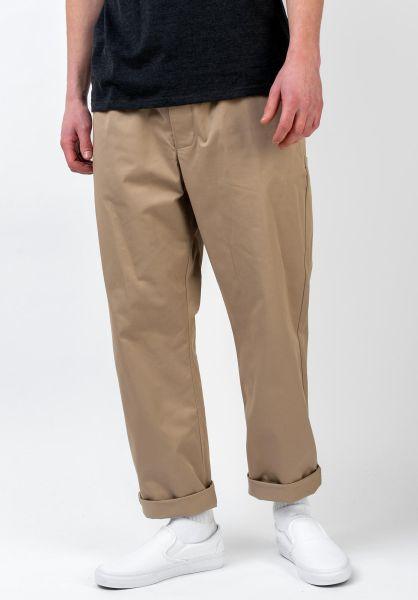 Nike SB Chinos und Stoffhosen Dry Pull On khaki vorderansicht 0204156