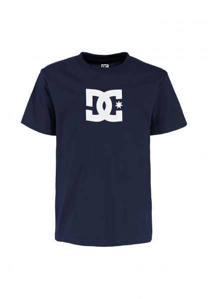 DC Shoes T-Shirts Star Kids blackiris vorderansicht 0369499