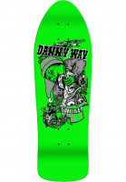 H-Street Skateboard Decks Danny Way Rabbit In The Hat B-Series neongreen Vorderansicht