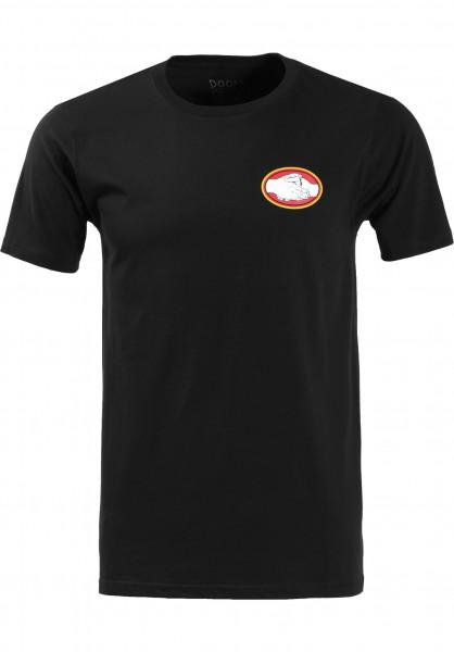 Doomsayers T-Shirts Snake Bite black Vorderansicht
