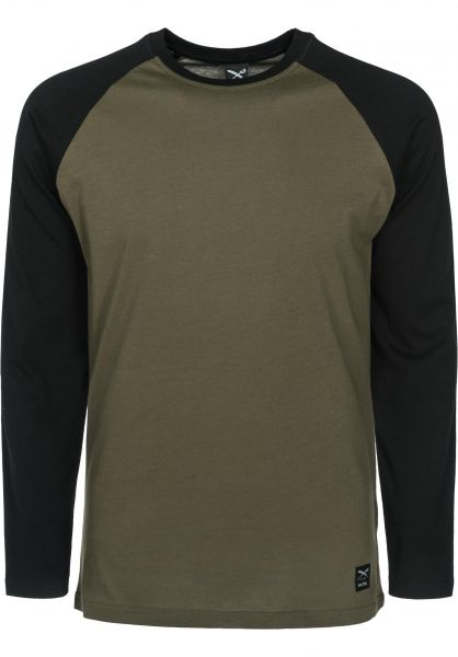 iriedaily Longsleeves Rugged black-olive Vorderansicht