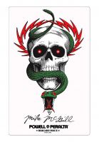 Powell-Peralta-Verschiedenes-McGill-Skull-Snake-no-color-Vorderansicht