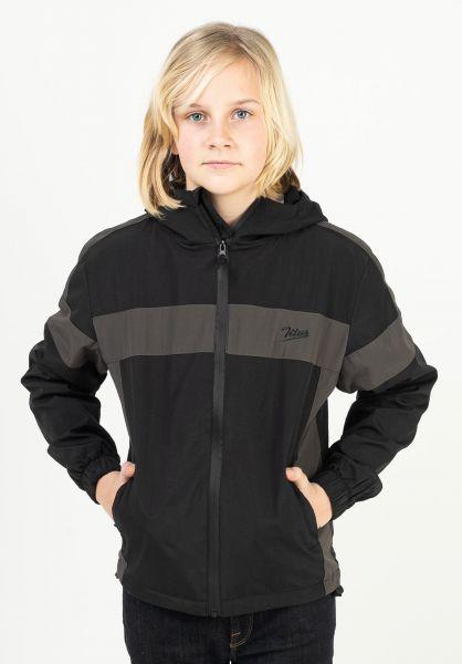 TITUS Übergangsjacken Stevland Kids black-anthracite vorderansicht 0504664