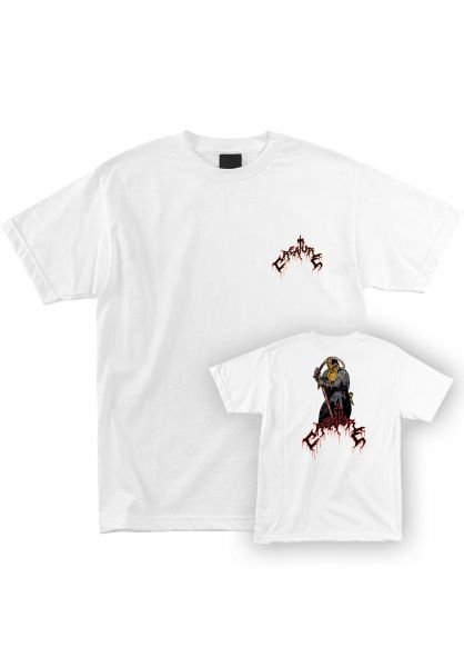 Creature T-Shirts Blood Eagle white vorderansicht 0322156