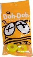 Doh-Doh-Lenkgummis-92A-Yellow-Set-yellow-Vorderansicht