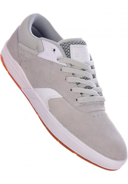 DC Shoes Alle Schuhe Tiago S grey-grey-white vorderansicht 0604352