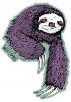 welcome-verschiedenes-sloth-die-cut-black-sage-vorderansicht-0170417