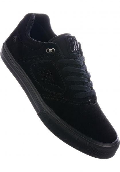 Emerica Alle Schuhe Reynolds 3 G6 Vulc FW18 black-black vorderansicht 0604549