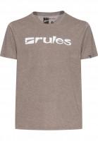Rules T-Shirts Basic lightbrownmottled Vorderansicht