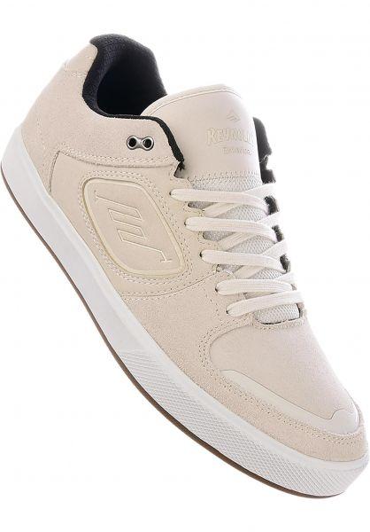 Emerica Alle Schuhe Reynolds G6 white vorderansicht 0604639