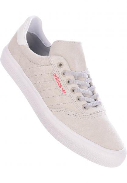 adidas-skateboarding Alle Schuhe 3MC grey-white-scarlet vorderansicht 0604427