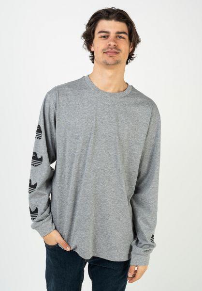 adidas-skateboarding Longsleeves Shmoo sleeve print coreheather vorderansicht 0383970