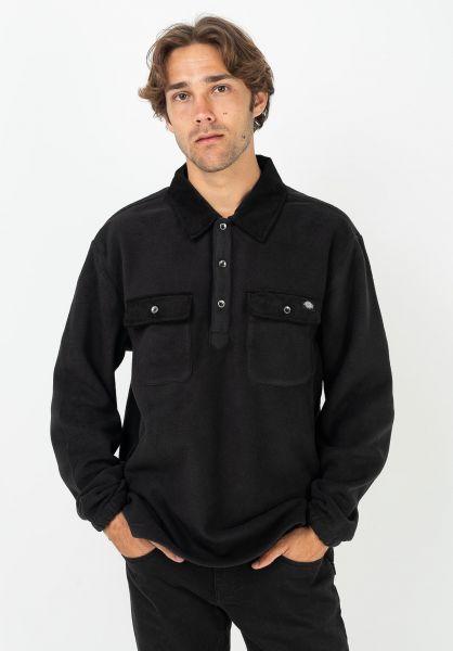 Dickies Polo-Shirts Morganza black vorderansicht 0138430