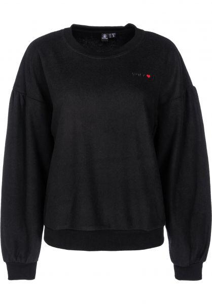 Volcom Sweatshirts und Pullover Fleece Pleaze black vorderansicht 0422573