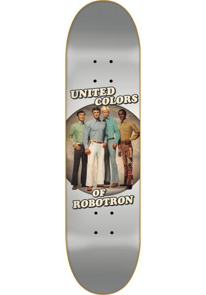 ROBOTRON Skateboard Decks Unity silver vorderansicht 0262631