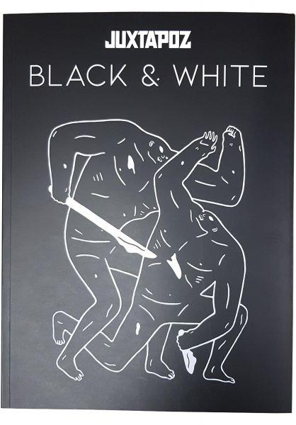 Gingko Press Verschiedenes Juxtapoz Black & White Book multicolored vorderansicht 0972212