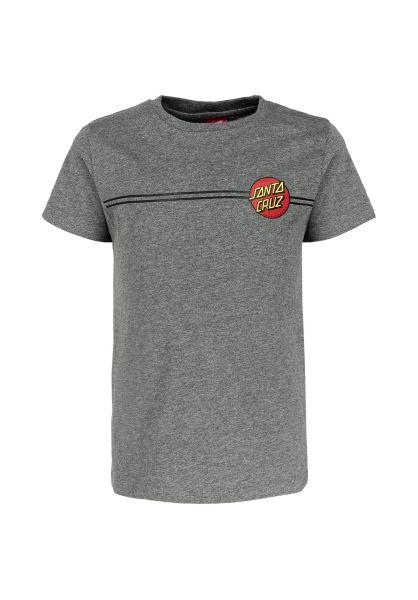 Santa-Cruz T-Shirts Youth OG Classic Dot darkheather unteransicht 0321696