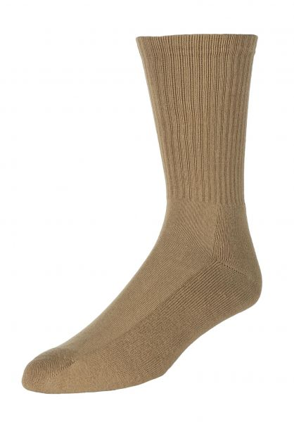 Carhartt WIP Socken Chase dustyhamiltonbrown-gold vorderansicht 0631669