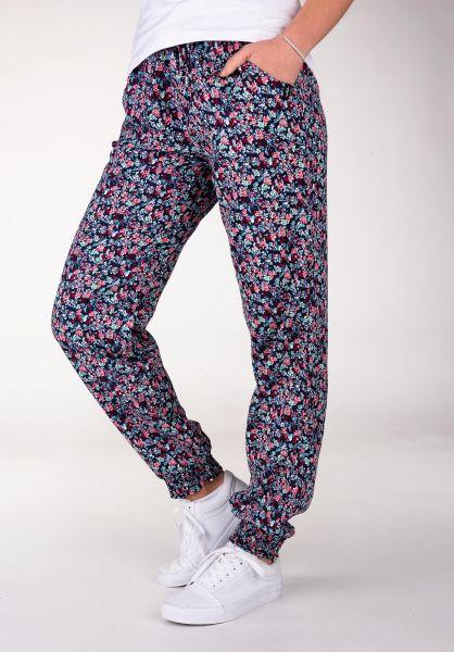 WLD Chinos und Stoffhosen Suit-Up-Baby-III navy-flowers vorderansicht 0521017