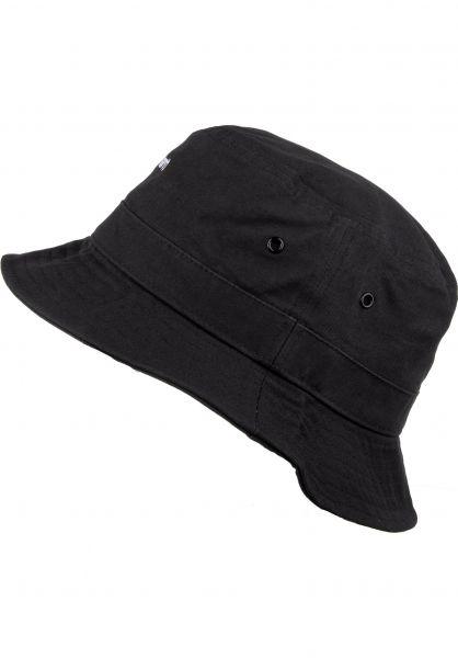 Carhartt WIP Hüte Script Bucket Hat black-white vorderansicht 0580362