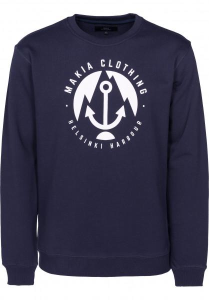 Makia Sweatshirts und Pullover Harbour navy Vorderansicht