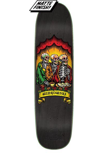 Santa-Cruz Skateboard Decks Dine With Me Winkowski vorderansicht 0262888