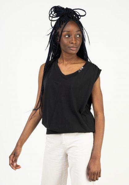 Ragwear T-Shirts Casidy A black 121 vorderansicht 0322997