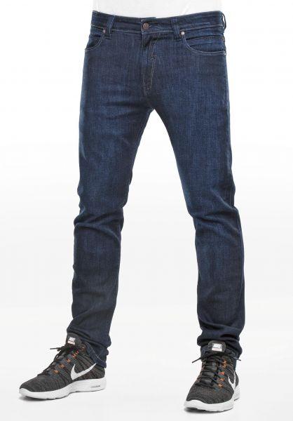 Reell Jeans Skin darkblue-washed Vorderansicht