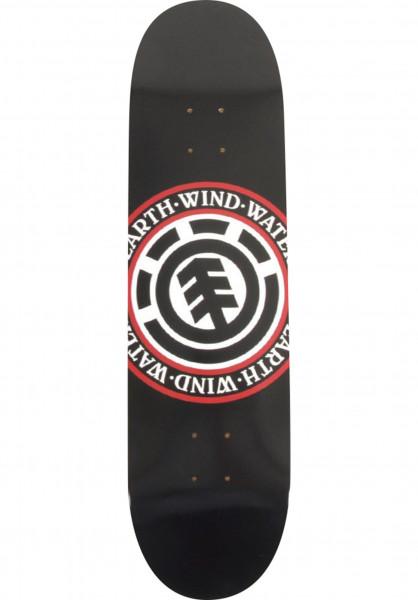 Element Skateboard Decks Seal black Vorderansicht