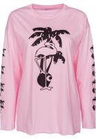 Carhartt WIP Longsleeves W'L/S Flamingo vegaspink-black Vorderansicht