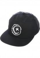 Foundation-Caps-Star-and-Moon-Unstructured-black-Vorderansicht