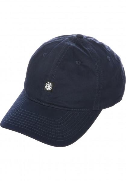 Element Caps Fluky Dad Hat Cap eclipsenavy Vorderansicht
