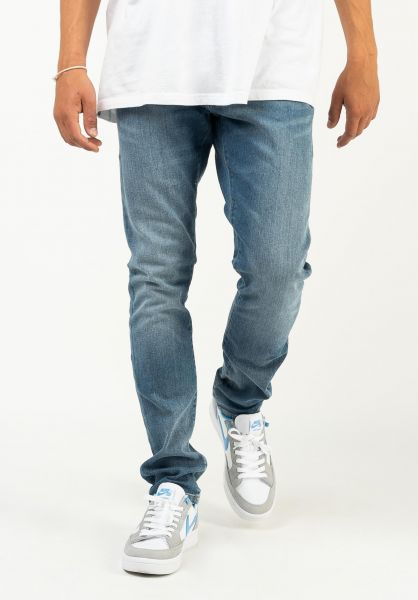 Carhartt WIP Jeans Rebel Pant bluemidusedwash vorderansicht 0269055