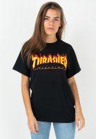 thrasher-t-shirts-flame-unisex-black-vorderansicht-0322578