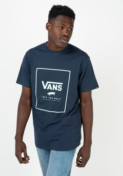 Vans T-Shirts Print Box dressblues-bay vorderansicht 0397887