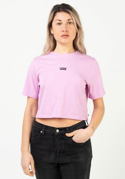 Vans T-Shirts Flying V II orchid vorderansicht 0322949