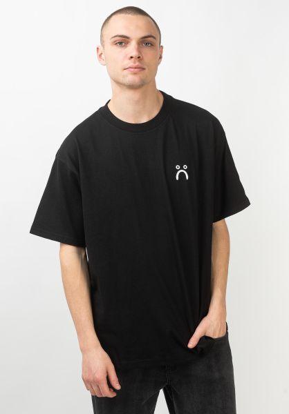 Polar Skate Co T-Shirts Sad black vorderansicht 0320962